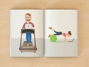Иллюстрации и обложки для книг