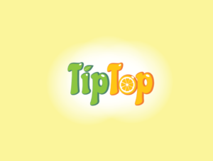 Дизайн логотипа для компании TipTop. Logo design for TipTop company