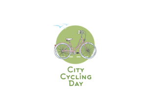 Логотип для компании City cycling day. Logo design for City cycling day